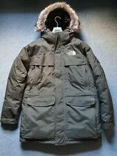 "Mens The North Face McMurdo Parka ""NEW"" With Fux Hood. Large"