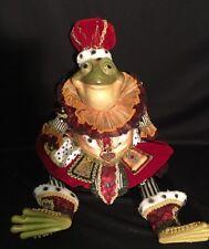 "Katherine's Collection Wayne Kleski Retired 28"" King Emeril La Pond Frog Doll"