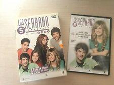 LOS SERRANO 5 TEMPORADA COMPLETA + 1 DVD - EXELENTE CONSERVACION