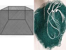 Fischernetz Stellnetz-Blatt Schutznetz  50m H:2,5m X 25mm 0,20X3 Geflochtene
