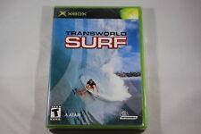 Transworld Surf (Microsoft Xbox) NEW Factory Sealed Near Mint