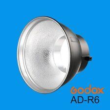 Godox AD-R6 Standard Reflector w/ Umbrella Hole ONLY for AD600B AD600BM Strobe