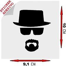 Sticker Adesivo Decal Heisenberg Breaking Bad Walter White Telefilm Tuning