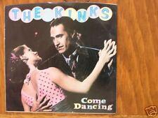 THE KINKS/COME DANCING 45