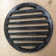 """12"""" Round Cast Iron bar  Floor Drain Strainer"""