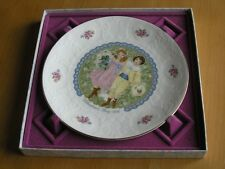 Royal Doulton Valentine's Day 1976 Collector's Plate May Happiness Never Fade