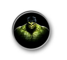 "HULK / 1"" / 25mm pin button / badge / Marvel / Iron Man / Thor / Captain America"