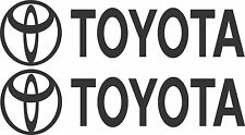 Toyota Stickers 2 x 450 x 70 Quality Stickers made for the outdoors