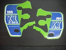 (Evo) KX 250 KX250 1989 Calcomanías Gráficos Pegatinas Rad