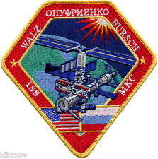 International Space Station - Expedition 4 - Embroidered Patch 12cm x 12cm