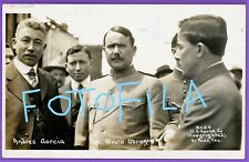 1914 RPPC Mexican RevolutionAndres Garcia and General Alvaro Obregon