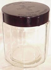 NOZON Glassworks HUMIDOR Holland 1920 Tabacco Cigar Glass Jar Tabakspot lid Art