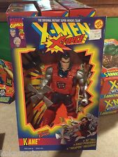 "1996 Toy Biz Marvel X-Men 10"" Inch Figure Doll MIB - X-Force Kane"