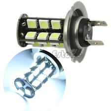 1x White H7 27 LED CANBUS 5050 SMD Fog Head Light Turn Tail Backup Bulb Lamp 12V