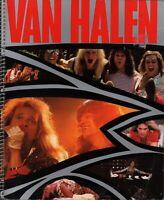 VAN HALEN 1984 TOUR CONCERT PROGRAM BOOK / DAVID LEE ROTH / EDDIE / VG 2 NMT