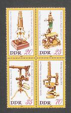 Alemania DDR estampillada sin montar o nunca montada 1980 Karl Zeiss Fundación Museo óptico