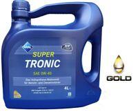 0W-40 ARAL Super Tronic Motoröl / 1 x 4 Liter