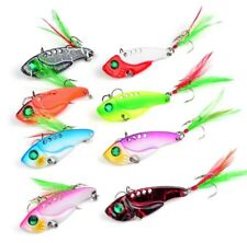 Vibration Spoons Fishing Lures Lot 8 pack brand new bass walleye pike lures