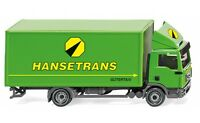 "#043506 - Wiking Koffer-Lkw (MAN TGL) ""Hansetrans"" - 1:87"