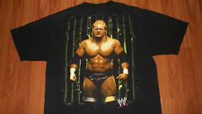 (2 Sided) WWE Triple-H wrestling T-shirt Large mens womens wrestler