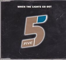Five-When The Lights Go Out Promo cd single