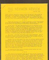 VINTAGE SCIENCE FICTION FANZINE #252 - THE NEHWON REVIEW #2