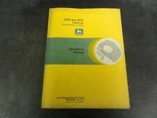 John Deere 2355 and 2555 Tractors Operator's Manual Oml64483 Issue C1