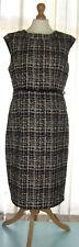 ❤  GOK WAN Sparkling Jacquard Belted Dress Size 16 NWT £40