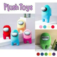 Soft Plush Among Us Colorful Crewmate Plushie Toy Game Doll Original 20cm