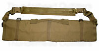 NEW Military Surplus USMC 249 BARREL BAG COYOTE Brown Rifle Carry Tactical Case