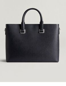 Dunhill Cadogan Extra Slim  Document/Laptop Case Black BNWT RRP £1195 Classic