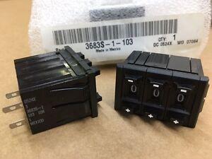 (1 pc)3683S-1-103 Bourns,10K Ohm 3-Gang 10-Turn,Digital Precision Potentiometer