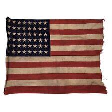 48 Star Flag, Small Size Vintage American 48 Star Flag