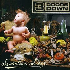 Seventeen Days - 3 Doors Down (2005, CD NUEVO) 602498801208
