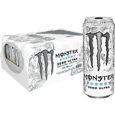 GenuineMonster Energy Zero Ultra 16 Ounce (Pack of 24) Other Free Shipping
