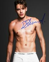 "Dominic Sherwood Shadowhunters Reprint Signed Autographed 8x10"" Photo Jace #3 RP"