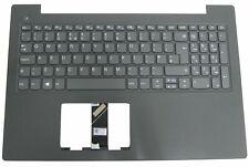More details for lenovo v130-15ikb v130-15igm palmrest case grey uk layout keyboard 5cb0r28201