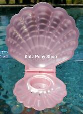 HQG1C Vintage G1 My Little Pony Style Sea Glimmers Clam Shell 💜PINK PEARL💜
