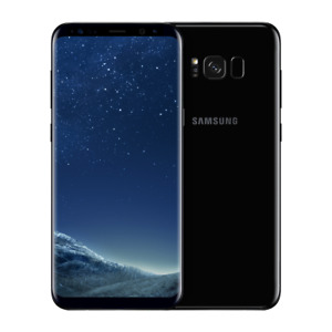 New Samsung Galaxy S8 SM-G950U - 64GB - Midnight Black (Unlocked) Mobile Phone