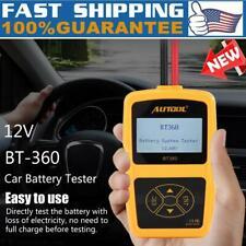 12V BT-360 Car Automotive Load Battery Cell System Tester Digital Analyzer Tool