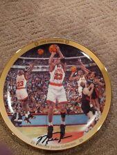 """Michael Jordan """" 1992 Champions """" Collectors Plate Upper Deck Bradford  #'d"""