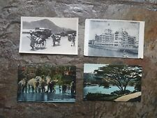 Collection Of 4 Vintage Postcards from India & Ceylon & Asia