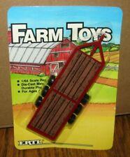 *ERTL Farm Toys 1/64 RED Dealer Implement Trailer 1986 IH Massey Case CIH
