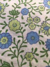 Vintage St Micheal Pastel Ditsy Florals Green White Blue Duvet Cover M&S