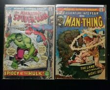 Amazing Spider-Man 119 Adventure Into Fear 19 Marvel First Appearance Lot