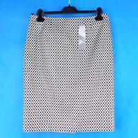 Basler Eleganter Damen Rock Pepper Salt Größe 42 XL Muster A Form Np 129 Neu