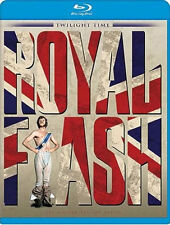 Royal Flash Blu-Ray - TWILIGHT TIME - Limited Edition Malcolm McDowel BRAND NEW