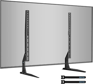BONTEC Universal Table Top TV Stand Pedestal for 22-65 inch LCD/LED/OLED/Plasma