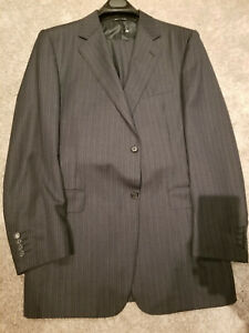 CANALI 2B Suit 44L 46 L  (56L Euro) Super 120's  Made in Italy