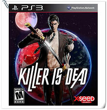 PS3 Killer is Dead SONY PLAYSTATION Action Games Xseed